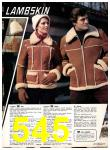 1977 Sears Fall Winter Catalog, Page 545