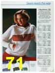 1985 Sears Fall Winter Catalog, Page 71