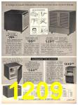 1971 Sears Fall Winter Catalog, Page 1209