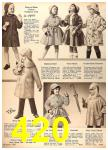 1960 Sears Fall Winter Catalog, Page 420