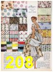 1957 Sears Spring Summer Catalog, Page 208