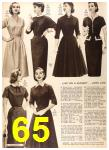 1956 Sears Fall Winter Catalog, Page 65