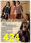 1972 Sears Fall Winter Catalog, Page 424