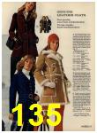 1972 Sears Fall Winter Catalog, Page 135