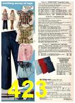 1978 Sears Fall Winter Catalog, Page 423