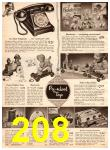 1952 Sears Christmas Book, Page 208
