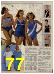 1984 Sears Spring Summer Catalog, Page 77