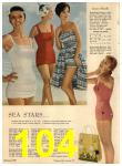 1960 Sears Spring Summer Catalog, Page 104