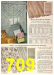 1958 Sears Spring Summer Catalog, Page 709