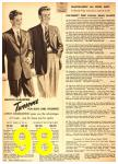 1949 Sears Spring Summer Catalog, Page 98