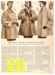 1956 Sears Fall Winter Catalog, Page 20