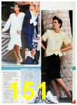 1986 Sears Spring Summer Catalog, Page 151