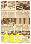 1958 Sears Spring Summer Catalog, Page 862