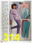 1986 Sears Fall Winter Catalog, Page 314
