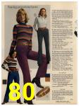 1972 Sears Fall Winter Catalog, Page 80