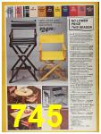 1987 Sears Spring Summer Catalog, Page 745