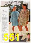 1967 Sears Spring Summer Catalog, Page 551