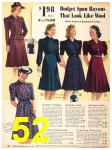 1940 Sears Fall Winter Catalog, Page 52