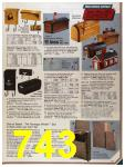 1986 Sears Fall Winter Catalog, Page 743