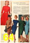 1962 Sears Fall Winter Catalog, Page 64