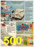 1977 Sears Christmas Book, Page 500