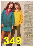1987 Sears Fall Winter Catalog, Page 349