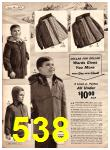 1966 Montgomery Ward Fall Winter Catalog, Page 538