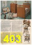 1961 Sears Spring Summer Catalog, Page 403