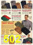 1940 Sears Fall Winter Catalog, Page 502