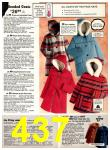 1977 Sears Fall Winter Catalog, Page 437
