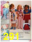 1986 Sears Fall Winter Catalog, Page 291