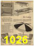 1962 Sears Spring Summer Catalog, Page 1026