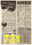 1968 Sears Fall Winter Catalog, Page 731