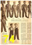 1949 Sears Spring Summer Catalog, Page 74