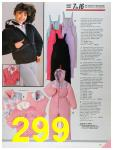 1986 Sears Fall Winter Catalog, Page 299