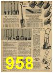 1962 Sears Spring Summer Catalog, Page 958