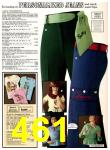 1978 Sears Fall Winter Catalog, Page 461