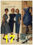 1959 Sears Spring Summer Catalog, Page 17