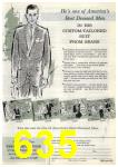 1961 Sears Spring Summer Catalog, Page 635