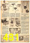 1962 Sears Fall Winter Catalog, Page 481