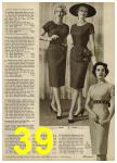 1959 Sears Spring Summer Catalog, Page 39