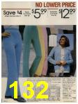 1984 Sears Spring Summer Catalog, Page 132