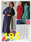 1985 Sears Fall Winter Catalog, Page 195