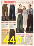 1940 Sears Fall Winter Catalog, Page 440