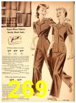 1942 Sears Spring Summer Catalog, Page 269