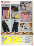 1986 Sears Spring Summer Catalog, Page 266