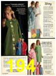1969 Sears Fall Winter Catalog, Page 194