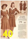 1942 Sears Spring Summer Catalog, Page 40
