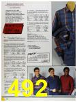 1986 Sears Fall Winter Catalog, Page 492