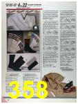 1986 Sears Fall Winter Catalog, Page 358
